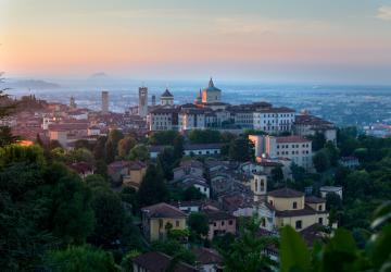 Veduta panoramica di Bergamo